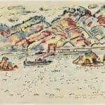 Inland Sea, Japan – Ivan Albright