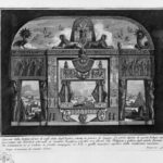 Insight into the coffee shop to use the English that is located at the Spanish Steps – Giovanni Battista Piranesi