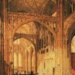 Interior of Salisbury Cathedral – William Turner