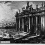 Interior view of the Basilica of St. John Lateran – Giovanni Battista Piranesi