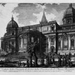 Interior view of the Basilica of St. Maria Maggiore – Giovanni Battista Piranesi