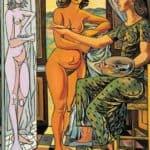 Interior with nude – Rafael Zabaleta