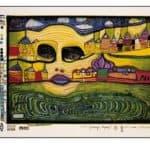 691A  Irinaland Over the Balkans – Friedensreich Hundertwasser