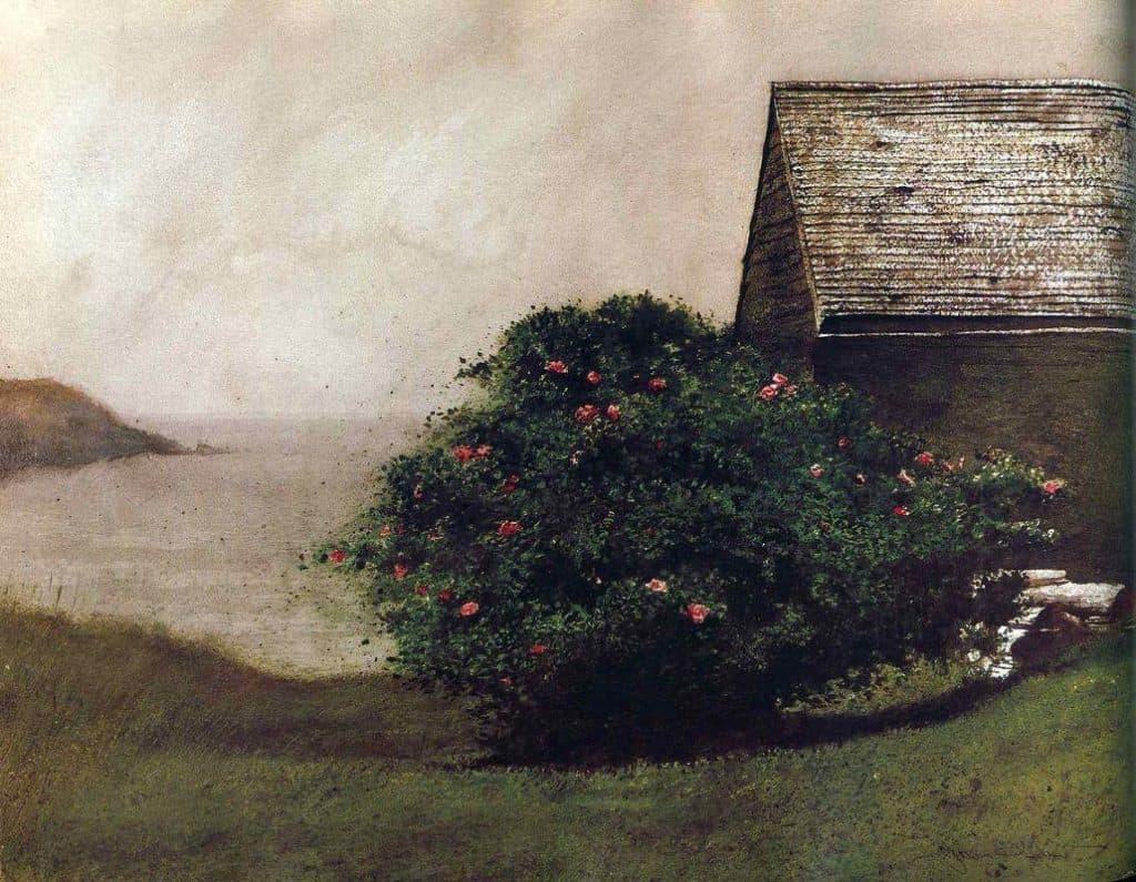 Jamie wyeth island roses