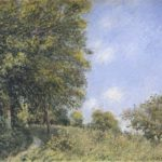 July Afternoon near the Forest – Alfred Sisley