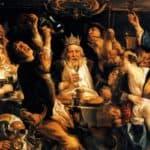 The King Drinks  - Jacob Jordaens