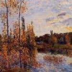 L Etang de Chevreuil – Alfred Sisley