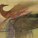 La Rencontre des amis (Oiseau) – Wifredo Lam