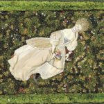 Lady with the Dog, Relaxing on the Lawn – Konstantin Somov