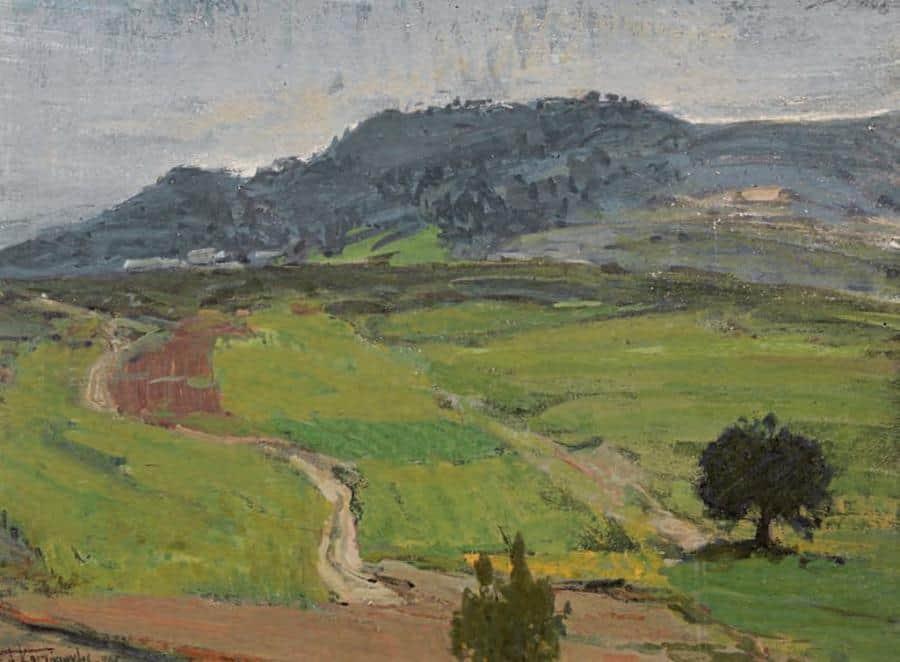 Landscape - Frida Kahlo