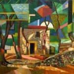 Landscape in Ceret – Auguste Herbin
