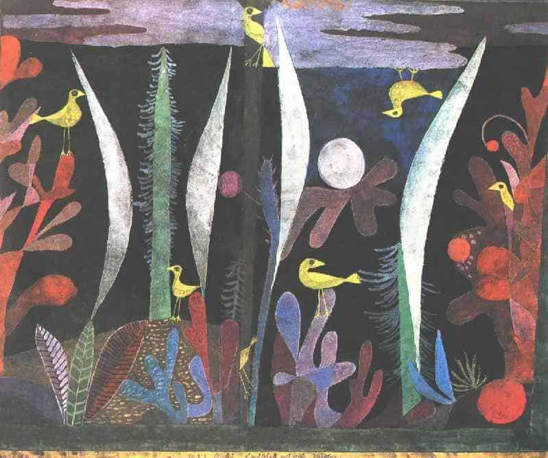 Landscape with Yellow Birds - Paul Klee
