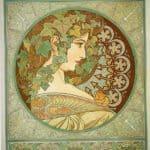 Laurel – Alphonse Mucha