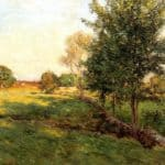 Lenghtening Shadows – Willard Metcalf