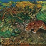Leopard with tapir – Antonio Ligabue