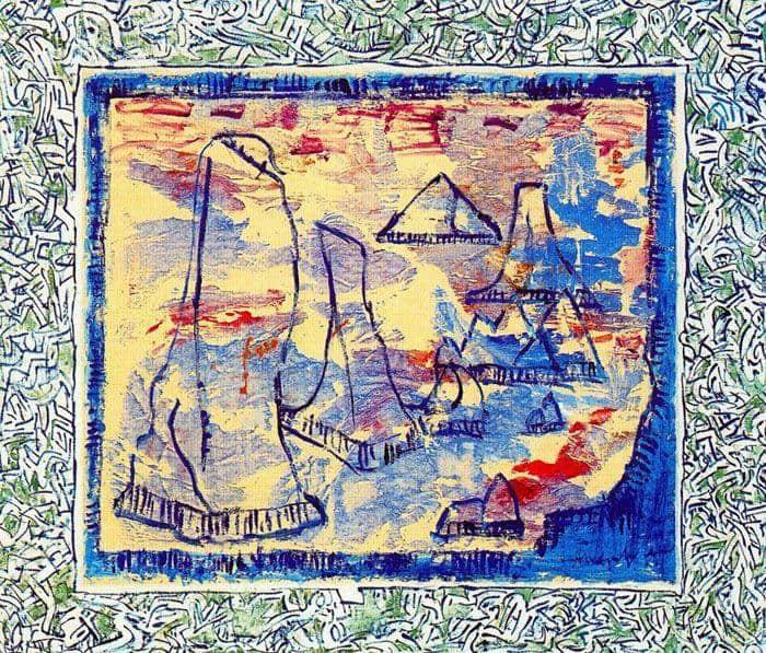Les Aiguilles, VI - Pierre Alechinsky