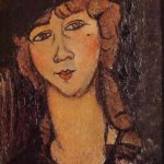 Lolotte (Head of a Woman in a Hat) – Amedeo Modigliani