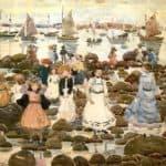 Low Tide, Beachmont – Maurice Prendergast
