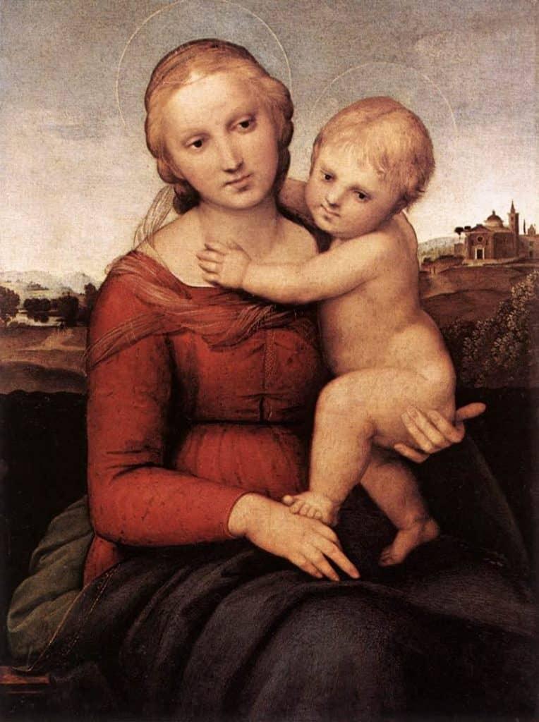 Madonna And Child - Michelangelo