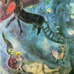 Madonna with the Sleigh – Marc Chagall