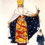 Magician. Costume design – Alexandre Benois
