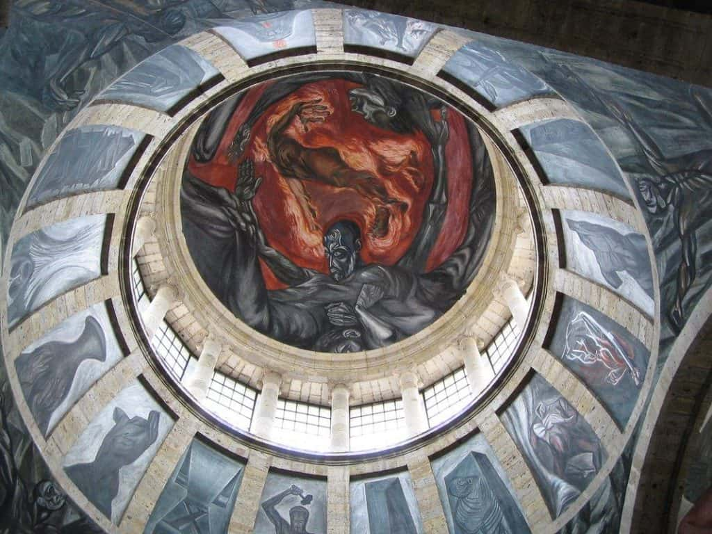 Man of Fire - Jose Clemente Orozco