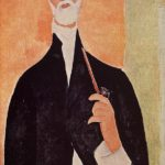 Man with a Pipe (The Notary of Nice) – Amedeo Modigliani