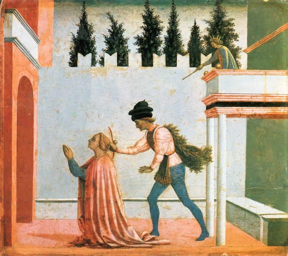 Martyrdom Of St. Lucy - Domenico Veneziano