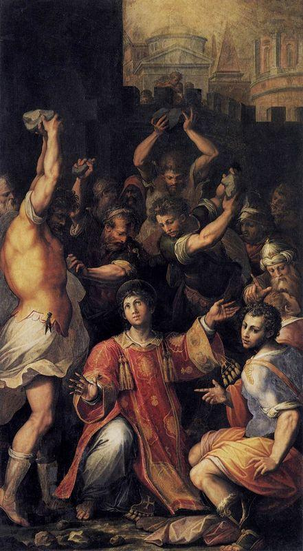 Martyrdom of St. Stephen - Giorgio Vasari