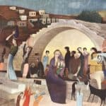 Mary's Well at Nazareth – Tivadar Kosztka Csontvary