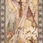 Maude Adams as Joan of Arc – Alphonse Mucha