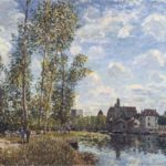 May Afternoon on the Loing – Alfred Sisley