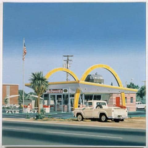 McDonalds Pickup - Ralph Goings