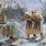 Melting Snow Maiden  – Vasily Perov