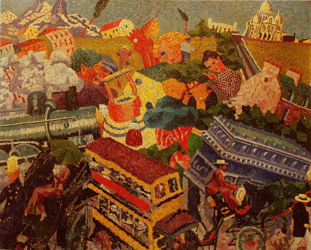 Memories of Travel - Gino Severini
