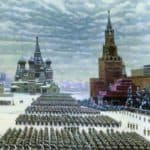 Military Parade in Red Square, 7th November 1941 – Konstantin Yuon