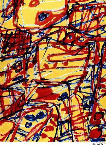 Mire G21 - Jean Dubuffet