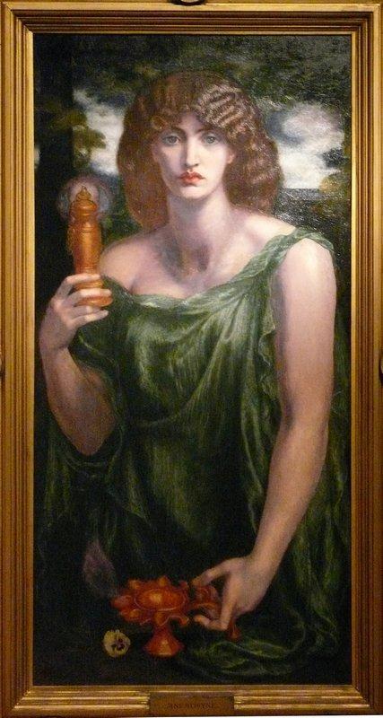 Mnemosyne – Dante Gabriel Rossetti