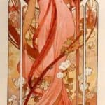 Moet and Chandon White Star – Alphonse Mucha