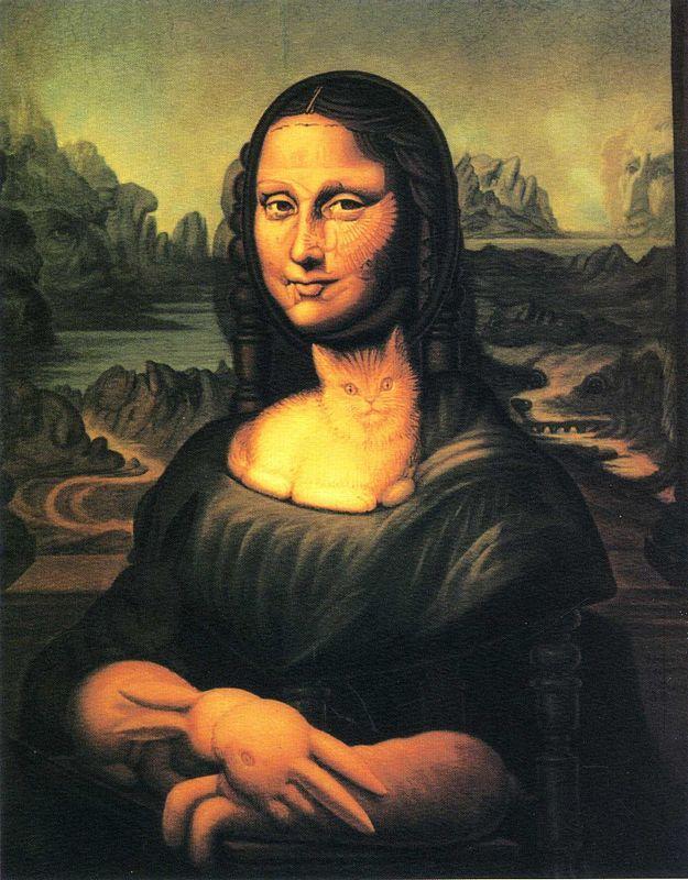 Mona Lisa's Chair - Octavio Ocampo