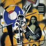 Mona Lisa with the keys – Fernand Leger