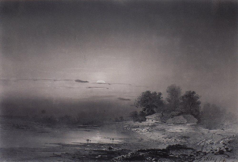 Moonlit Night - Aleksey Savrasov