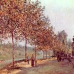 Morning in June (Saint Mammes et les Coteaux de la Celle) – Alfred Sisley