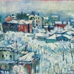 Moscow. Smolensky boulevard. Study –  Wassily Kandinsky