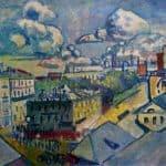Moscow. Zubovskaya Square. Study. –  Wassily Kandinsky