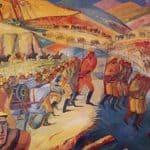 Mountainous march of armenian units – Martiros Saryan