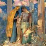 Mystical Conversation – Odilon Redon
