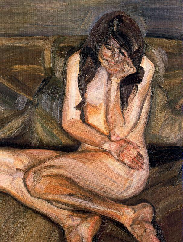 Naked Child Laughing - Lucian Freud