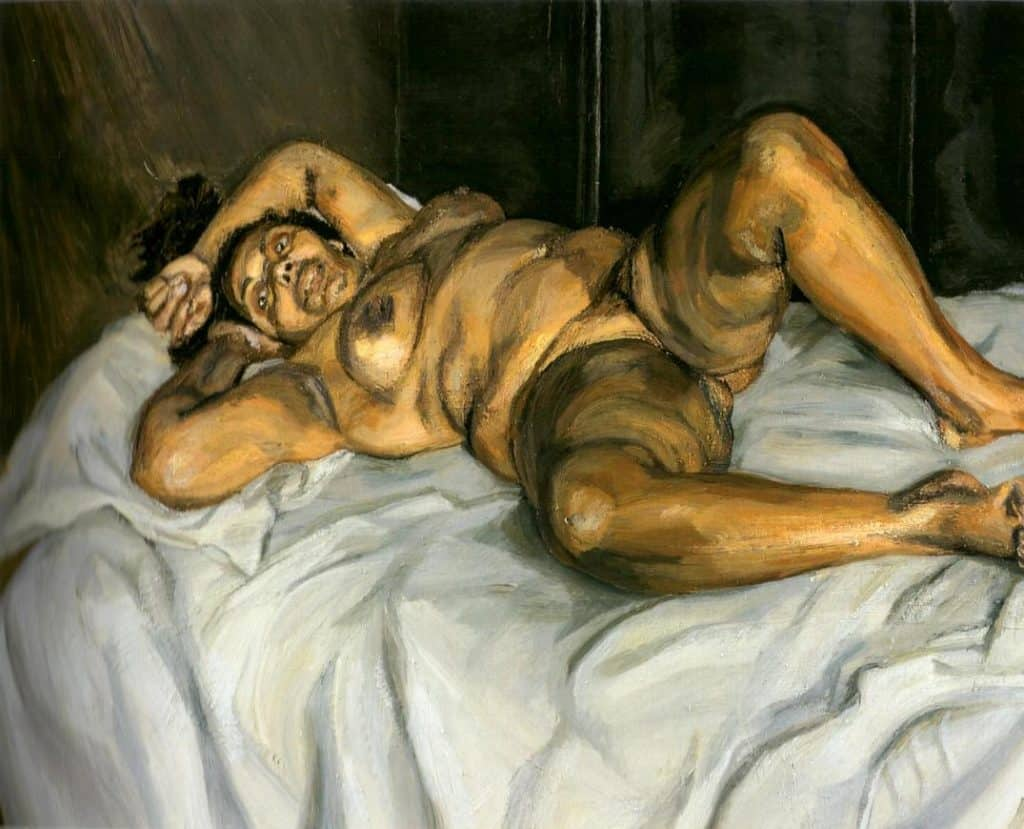 Naked Solicitor - Lucian Freud