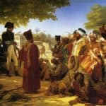 Napoleon Bonaparte  Pardoning the Rebels at Cairo – Pierre-Narcisse Guerin